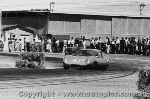 61403 - G. Spanos - Elfin GTS - Ballarat - 12th February 1961 - Photographer Peter D Abbs