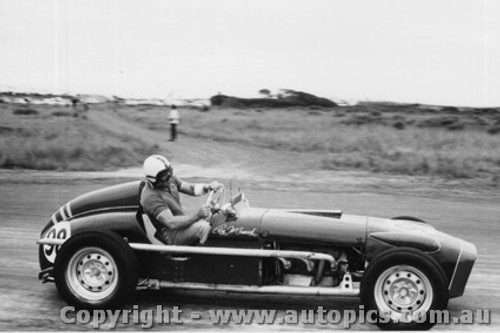 61518 - R. Mcormack - Waggott - Phillip Island - 3rd April 1961 - Photographer Peter D Abbs