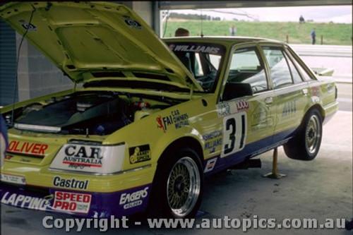 87777  - L. Smerton / B. Williams -  VK Commodore - Bathurst 1987  - Photographer Peter Green