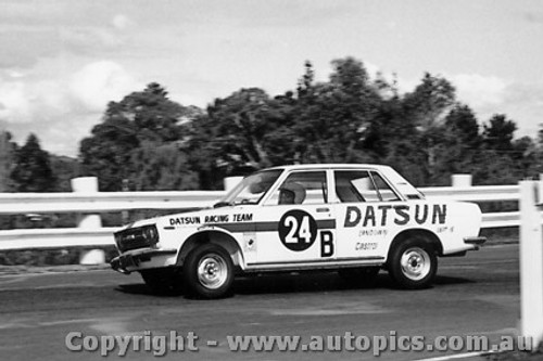 68206 - Roxburgh / Whiteford  Datsun 1600 - Three Hour Trophy Race - Sandown 15th Septemberl 1968 - Photographer Peter D Abbs