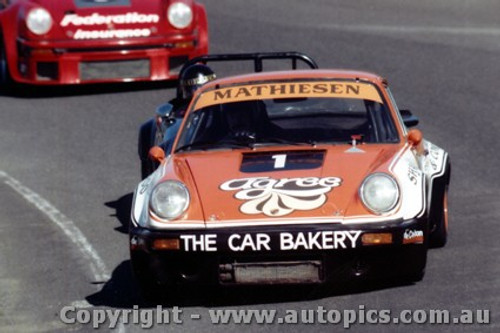 80410 - Ross Mathiesen - Porsche - Amaroo Park 13th July 1980 - Photographer Lance J Ruting