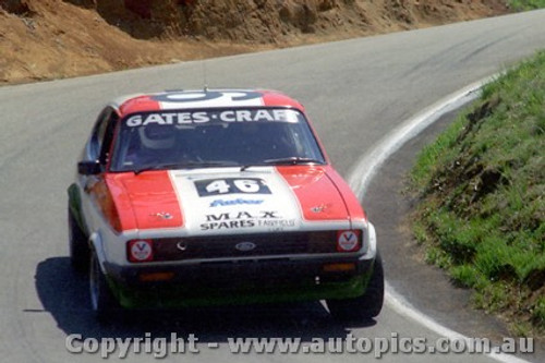 81805  - J. Gates / J. Craft - Ford Capri -  Bathurst  1981 - Photographer Lance J Ruting
