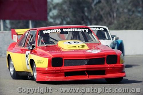 85414 - Robin Doherty Holden Torana - Oran Park 5th May 1985 - Photographer Lance J Ruting