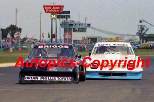 81046 - J. Briggs  Chev Monza - G. Rogers Holden - Calder - Photographer Peter D Abbs