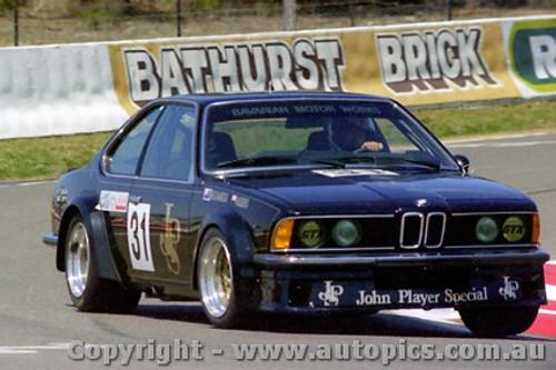 82820 - J. Richards / D. Hobbs BMW 635 CSi- Bathurst 1982 - Photographer Lance J Ruting
