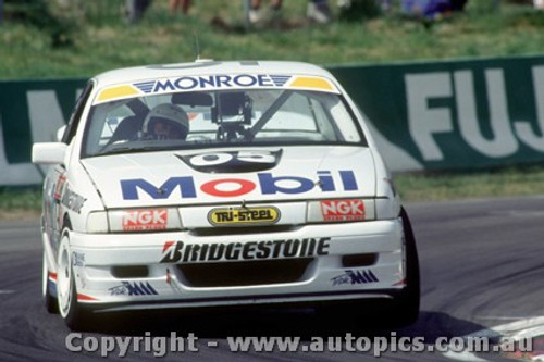91760  -  P. Brock / A. Miedecke  - Holden Commodore VN  Bathurst 1991 - Photographer Ray Simpson