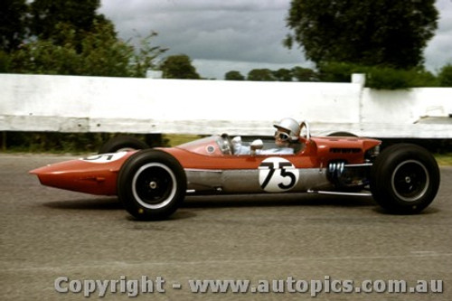 66586  - Ces Deslands  Elfin - Sandown 1966 - Photographer Peter D Abbs