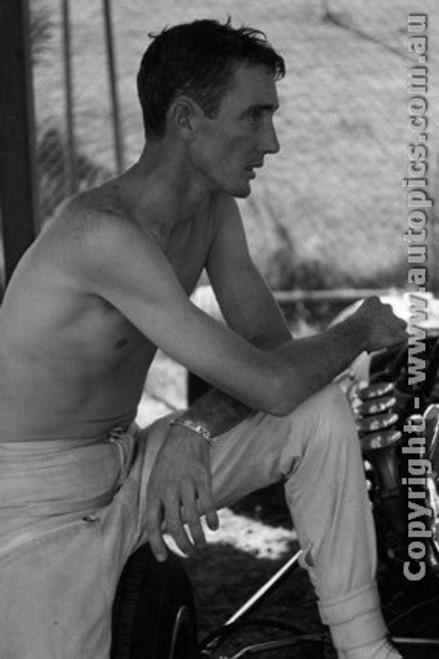 68586 - John Harvey - Tasman Series - Sandown - 1968 - Photographer  David Blanch