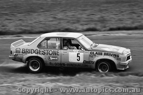 75051 - Peter Brock Holden Torana L34 SLR5000 - Phillip Island  1975 - Photographer Peter D Abbs