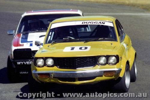 80055 - John Duggan  Mazda RX3 - Amaroo 1980 - Photographer Lance Ruting