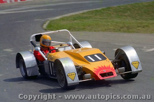 80411 - B. Rawlings Bullant Oran Park 23rd March 1980 - Photographer Lance J Ruting