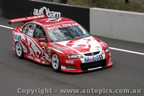 203712 - J. Richards / T. Longhurst - Holden Commodore  VY- Bathurst  2003 - Photographer Jeremy Braithwaite