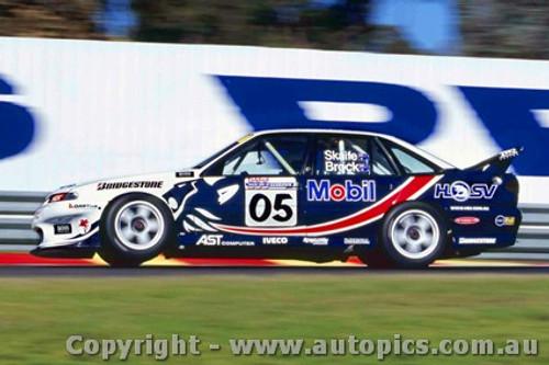 97006 - Peter Brock / Mark Skaife Holden Commodore -Sandown  1997 - Photographer Darren House