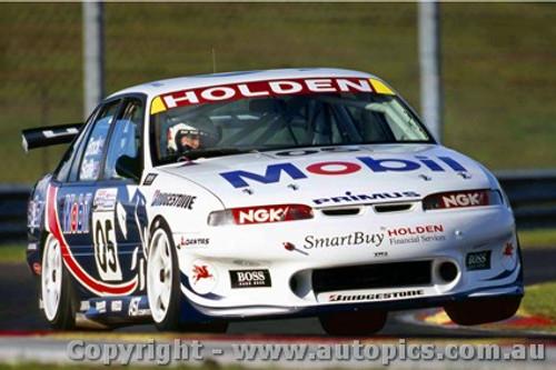 97007 - Peter Brock / Mark Skaife Holden Commodore -Sandown  1997 - Photographer Darren House