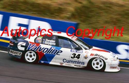 200712 - Garth Tander / Jason Bargwanna - Holden VT Commodore - 1st Outright Bathurst FAI 1000 2000 - Photographer Craig Clifford
