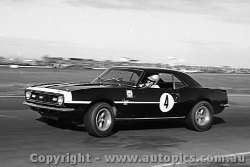 68225 - Norm Beechey Camaro - Calder 1968 - Photographer Peter D Abbs