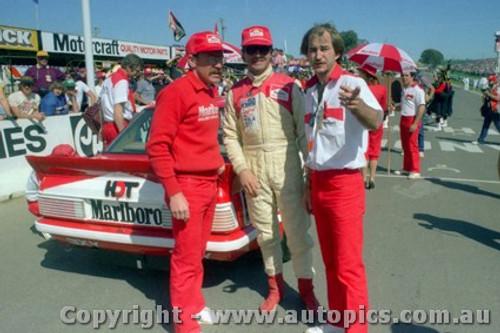 83773 - Peter Brock / Larry Perkins / Grant Steers  Commodore VH  -  Bathurst 1983 - Photographer Lance J Ruting
