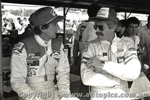 83852 - John Harvey and Ron Harrop - Bathurst 1983 - Photographer Darren House