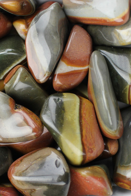 Polychrome Jasper   Happy look to life, communication with animals, eases stress, adjustment to change, allergies