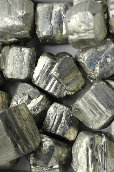 Pyrite   Masculine energy, manifestation, action, vitality, willpower, creativity, confidence
