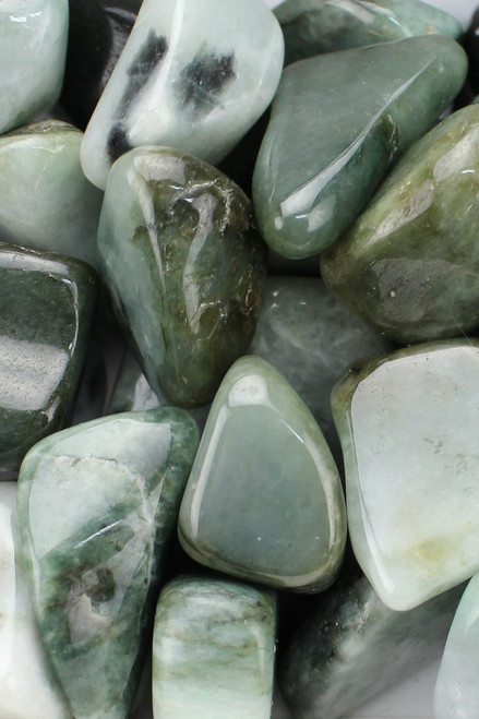 Burma Jade Good luck, good fortune, a money drawing stone, helps us to recognize the good in all things