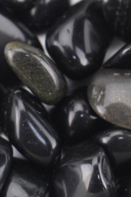 Golden Sheen Obsidian Healing abuse of power, activating the higher will, enhanced manifestation