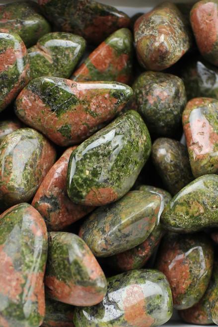 Unakite Jasper   Healing, balance, release of bad habits, higher attunement, patient persistence