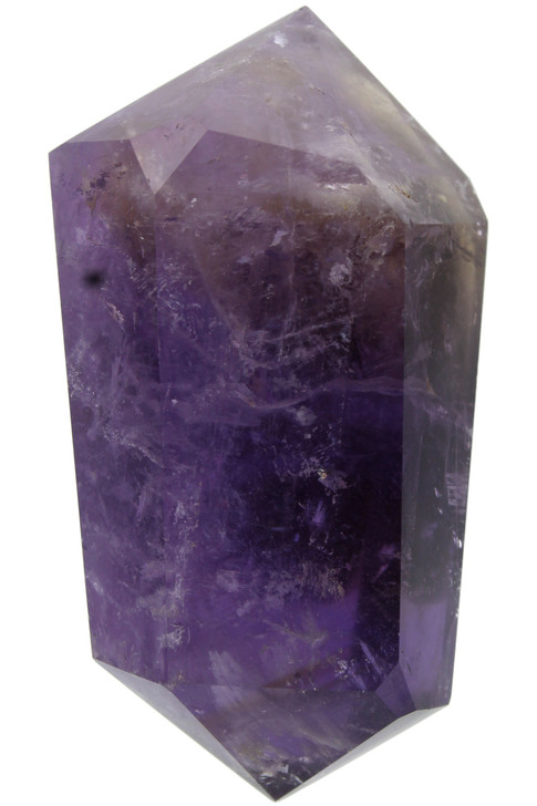 Ametrine Double Terminated Point Healing Lore: Anger, anxiety, concentration, confidence creative-expression, fear, grief, clarity, will power, manifestation, breaks patterns, unity