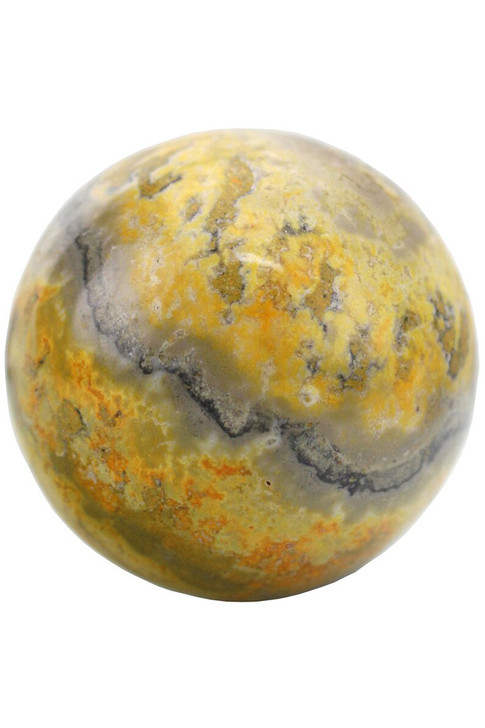 """Bumble Bee Jasper Stimulates the intellect, reasoning abilities and """"logic"""" centers, cleanses the solar plexus"""