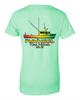Rasta boat ladies t-shirt