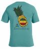 Pineapple garment-dyed tee