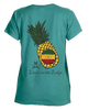 Pineapple garment-dyed ladies tee