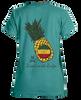 Pineapple garment-dyed ladies tee