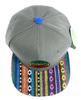 Rasta Pinwheel Aztec Hat