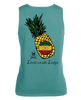 Pineapple garment-dyed tank