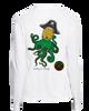 Pineapple Kraken ladies performance long sleeve t-shirt