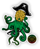 Pineapple Kraken Sticker
