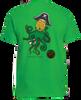 Kraken short sleeve green t-shirt