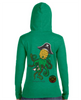Kraken long sleeve ladies hooded tee