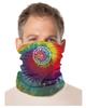 Pinwheel Tie Dye Face and Neck Gaiter