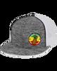 Pineapple Pinwheel Trucker Mesh Hat
