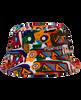 Pineapple Pinwheel Aztec Bucket Hat