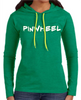 Pineapple Mafia long sleeve ladies hooded tee
