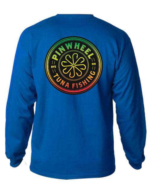Pinwheel Rasta Long Sleeve T-shirts