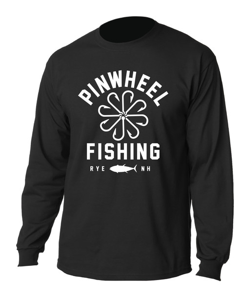 Pinwheel Fishing Long Sleeve T-shirts