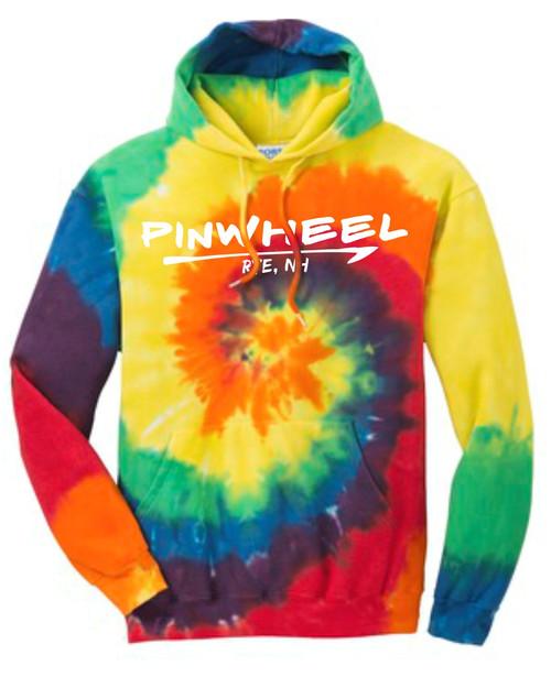 Pinwheel Tie Dye Hoodie