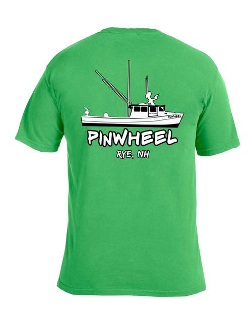 Pinwheel Garment-Dyed T-shirt