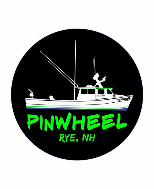 Pinwheel Boat Decal