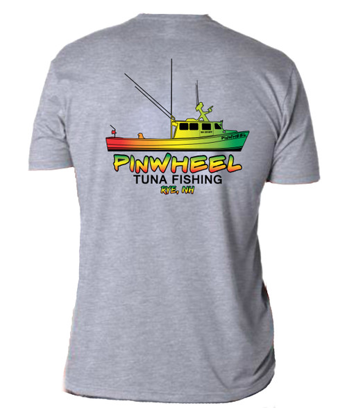 Pinwheel Boat super soft tee
