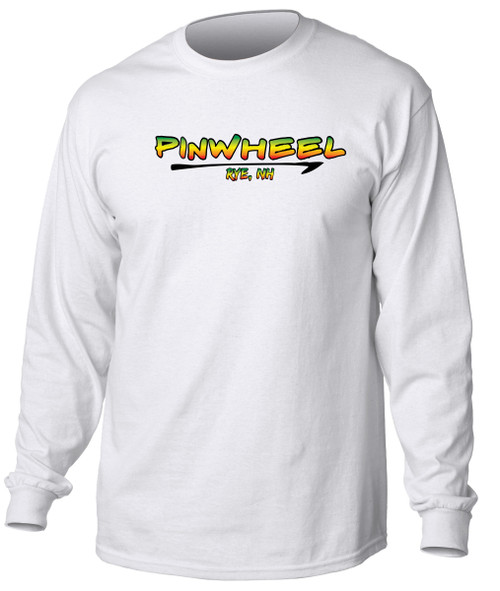 Pinwheel long sleeve t-shirt